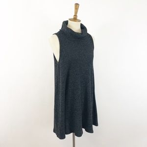 American Eagle Turtleneck Sleeveless Sweater Dress
